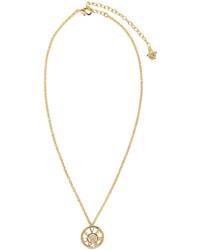 Pendentif doré Versace