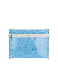 Pochette bleu clair MM6 MAISON MARGIELA