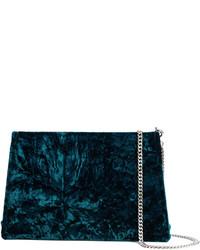 Pochette bleu marine Maison Margiela