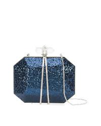 Pochette bleu marine Marchesa