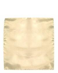 Pochette de costume beige