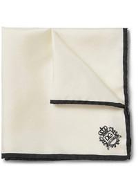 Pochette de costume blanche Dolce & Gabbana