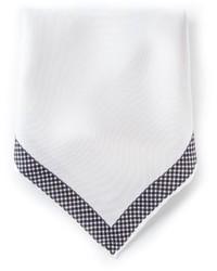 Pochette de costume blanche Lanvin