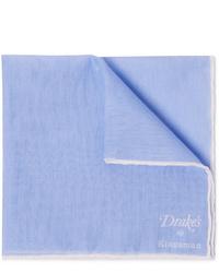 Pochette de costume bleu clair Kingsman