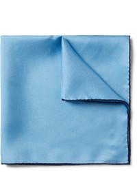 Pochette de costume bleu clair