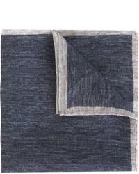 Pochette de costume bleu marine Eleventy