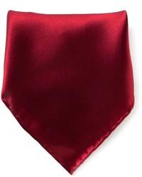 Pochette de costume bordeaux Brioni