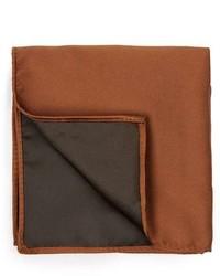 Pochette de costume brun Topman