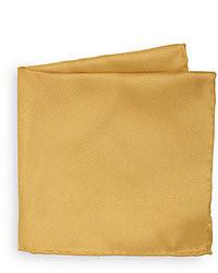 Pochette de costume dorée