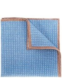 Pochette de costume en laine bleu clair Eleventy
