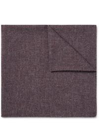 Pochette de costume en laine bordeaux Oliver Spencer