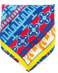 Pochette de costume imprimée multicolore fe-fe