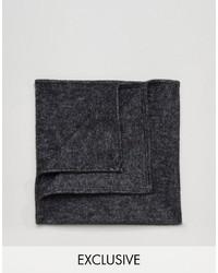 Pochette de costume imprimée noire Reclaimed Vintage