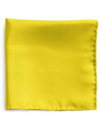 Pochette de costume jaune