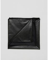Pochette de costume noire Asos