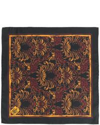 Pochette de costume noire Dolce & Gabbana