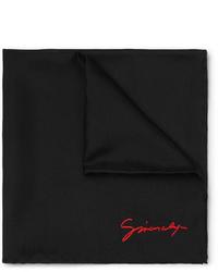 Pochette de costume noire Givenchy