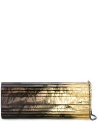 Pochette dorée Jimmy Choo