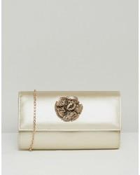 Pochette dorée Lotus