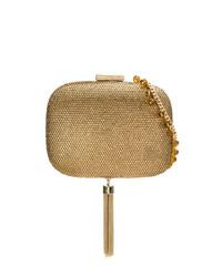 Pochette dorée Serpui