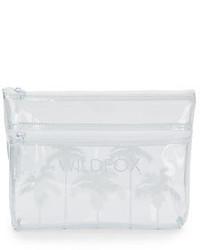 Pochette en caoutchouc transparente