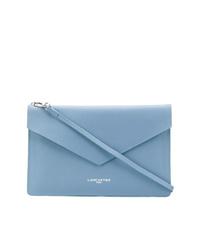 Pochette en cuir bleu clair Lancaster