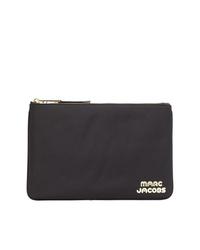 Pochette en cuir noire Marc Jacobs