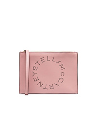 Pochette en cuir rose Stella McCartney