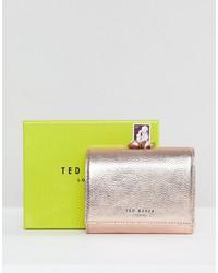 Pochette en cuir rose Ted Baker