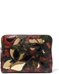 Pochette en cuir texturée noire 3.1 Phillip Lim