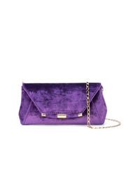 Pochette en daim violette Tyler Ellis