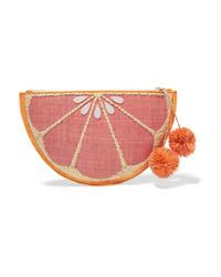 Pochette en toile rose Kayu