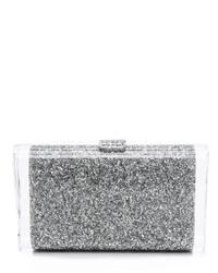 Pochette grise Edie Parker