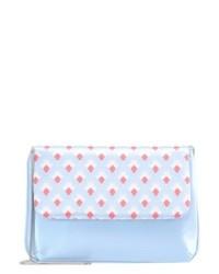 Pochette imprimée bleue claire mint&berry