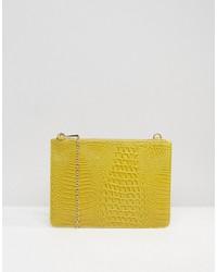 Pochette jaune Missguided