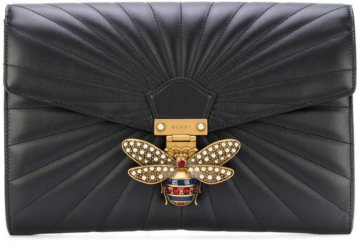 Pochette noire Gucci