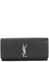 Pochette noire Saint Laurent