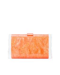 Pochette orange Edie Parker