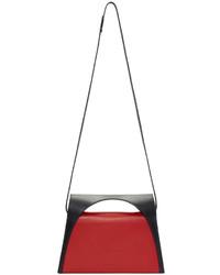 Pochette rouge et noir J.W.Anderson