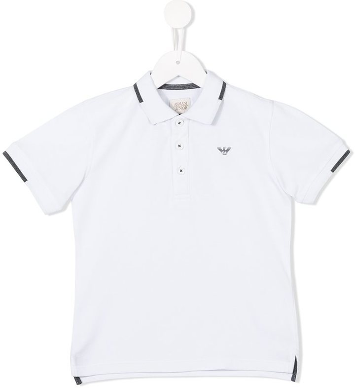 Polo blanc Armani Junior