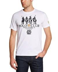 Polo blanc Polo Club Mallorca