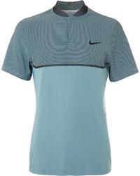 Polo bleu canard Nike
