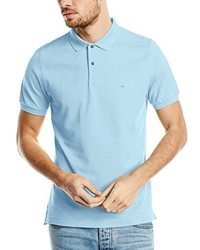 Polo bleu clair Calvin Klein