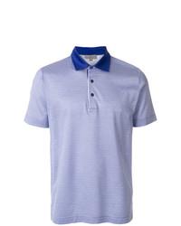 Polo bleu clair Canali