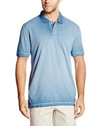 Polo bleu clair Tom Tailor