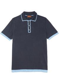 Polo bleu marine Tod's