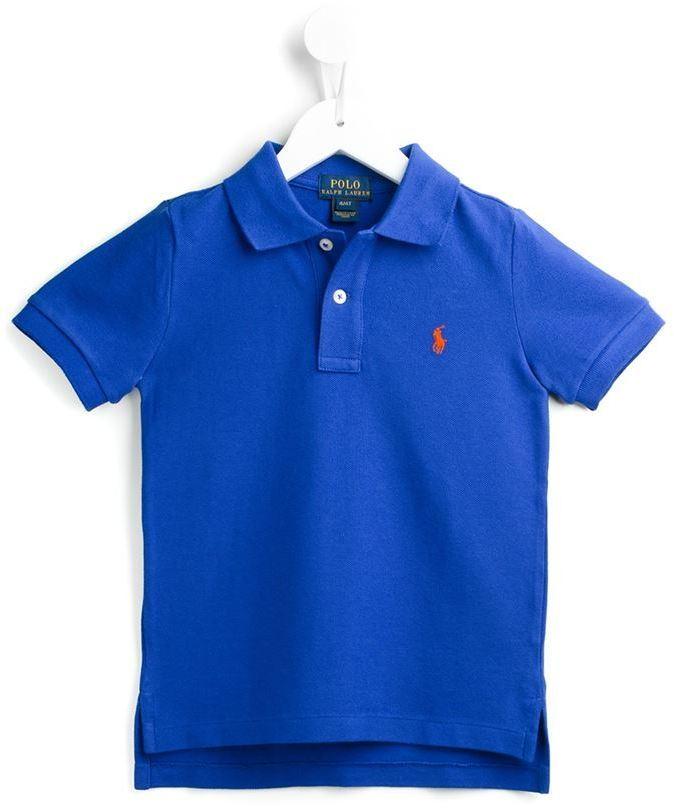 Polo bleu Ralph Lauren