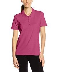Polo fuchsia Stedman Apparel