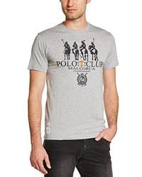 Polo gris Polo Club Mallorca