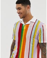 Polo imprimé multicolore ASOS DESIGN
